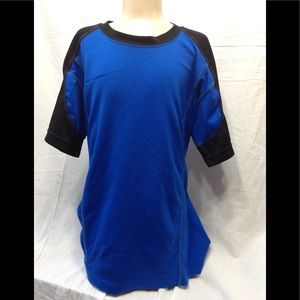Boy's size 10-12 dry-fit two tone tee